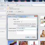 Como crear un album en Picasa 3.9